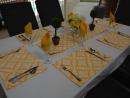 Table setting reversible Coolum Sunshine/Kona Sunshine