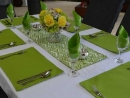 Table setting reversible Avoca Lime/Kona Lime