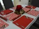 Table setting reversible Avoca Lobster/Kona Lobster