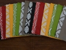 Placemats reversible